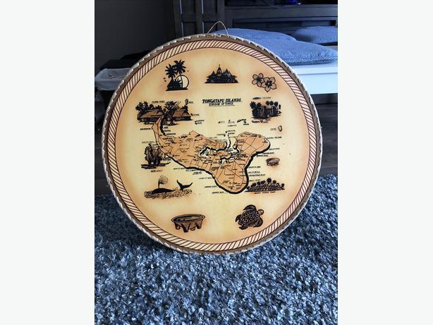 TONGA ISLAND MAP