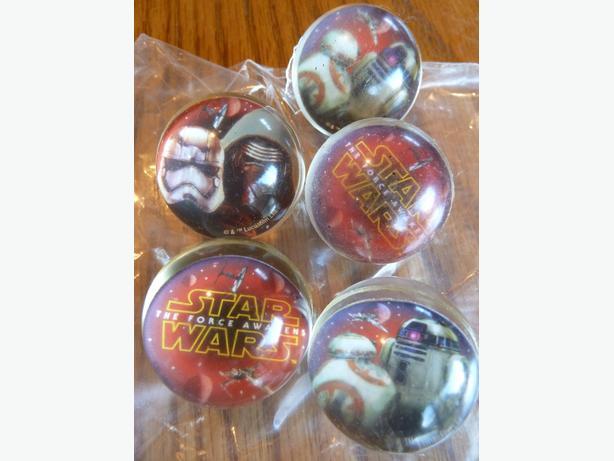 5 Star Wars balls