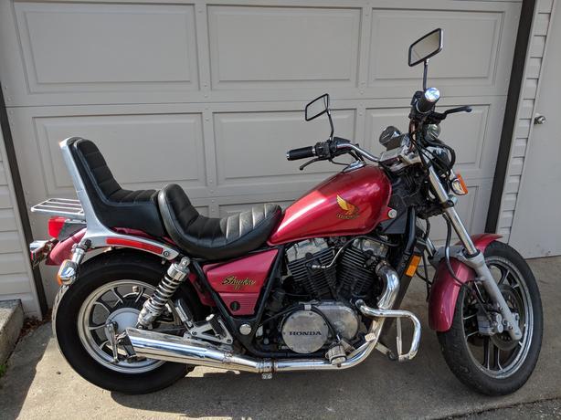 '85 Honda Shadow Vt750c  Collectors
