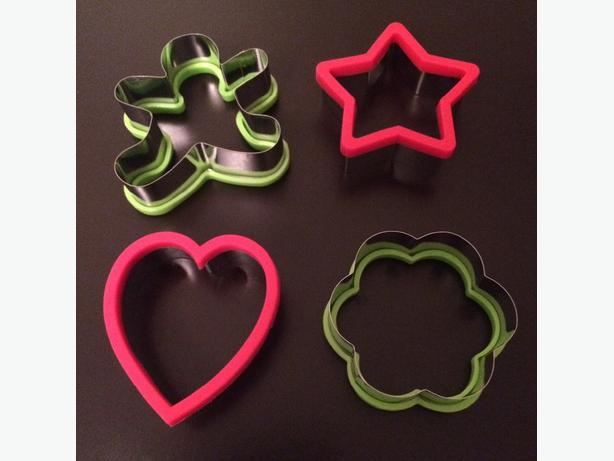 NEW! Set Of 4 Cookie Cutters