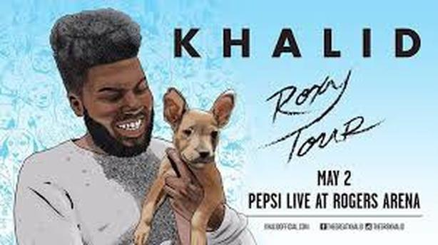 2 tickets to Khalid in Vancouver - May 2 -$60 for 2