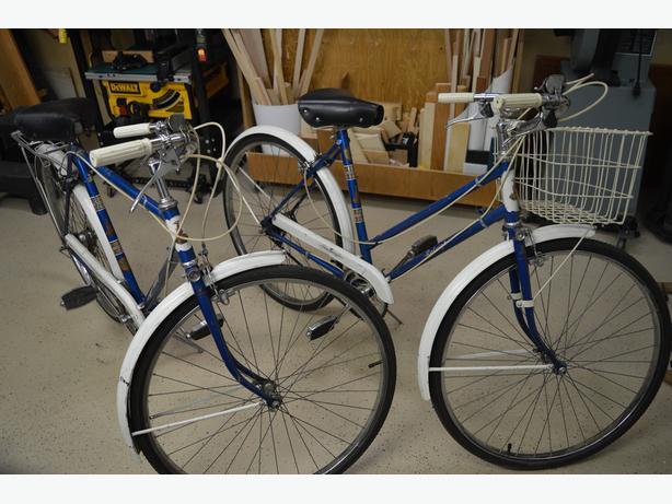 Vintage Raleigh Bikes (PAIR)