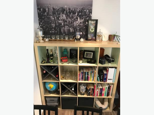 Ikea Kallax 4x4 shelving unit