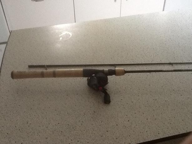 Freshwater reel and rod combo