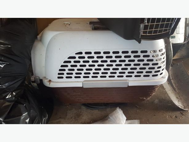 small dog transport cage
