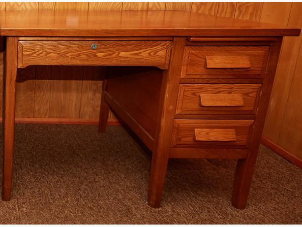 Large Oak Desk