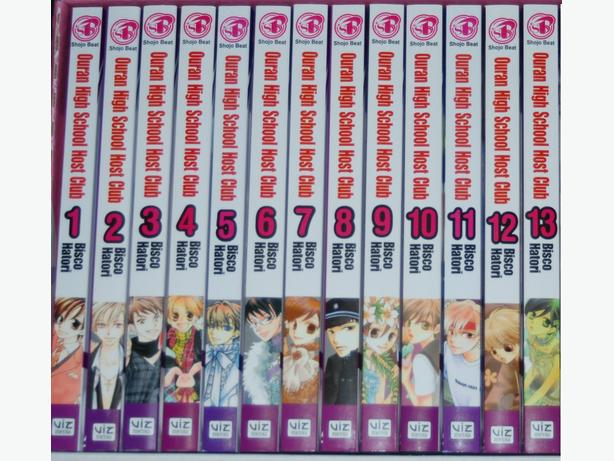 ENGLISH Ouran High School Host Club Manga, books