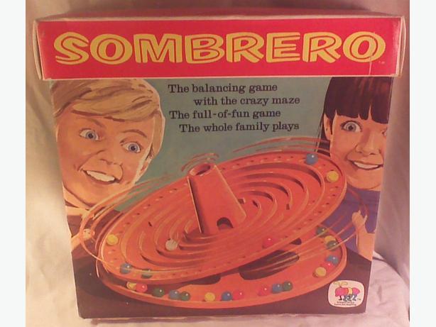 Vintage 1971 Sombrero game
