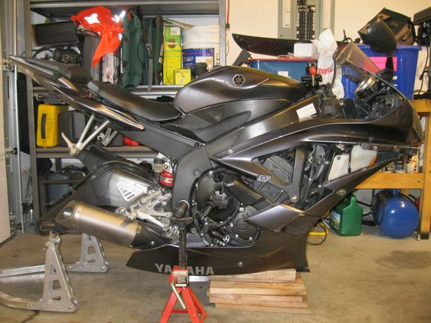 2007 YAMAHA R6 FOR PARTS