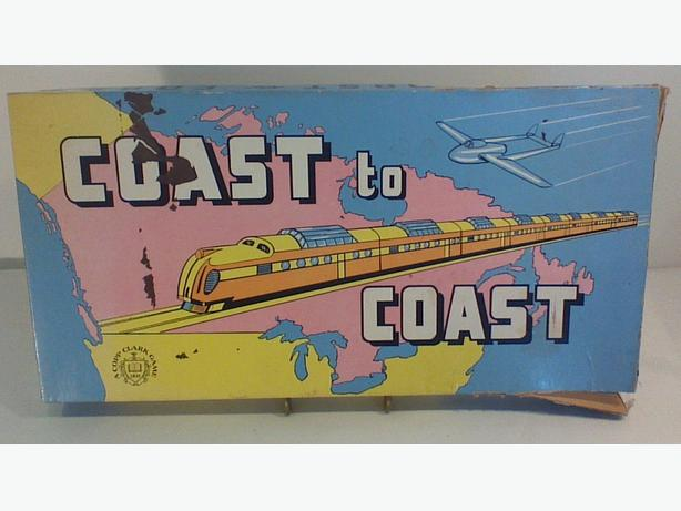 Coast to Coast board game