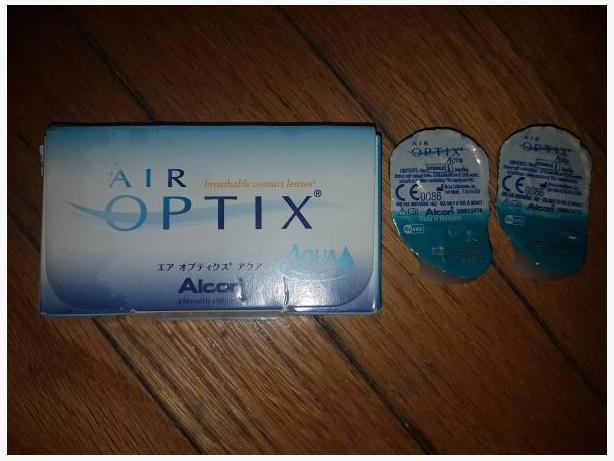Air Optix Aqua -4.75 Contact Lenses unopened