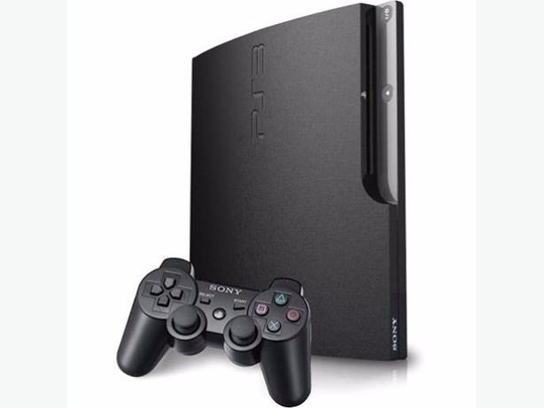 160 GB PS3 with Controller and 3 Games 2 controllers West