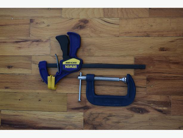 2 Woodworking Clamps by Irwin Oak Bay, Victoria