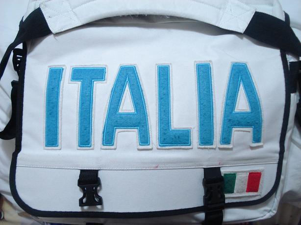 New Italia Design Flag Unisex Cross Shoulder Flight  Laptop Bag