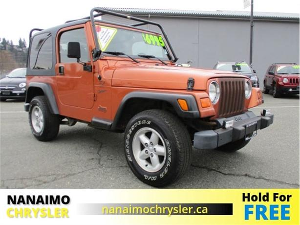 2000 Jeep TJ Sport No Accidents Roof Rack