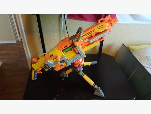 Nerf Vulcan N-Gauge Belt Fed Blaster