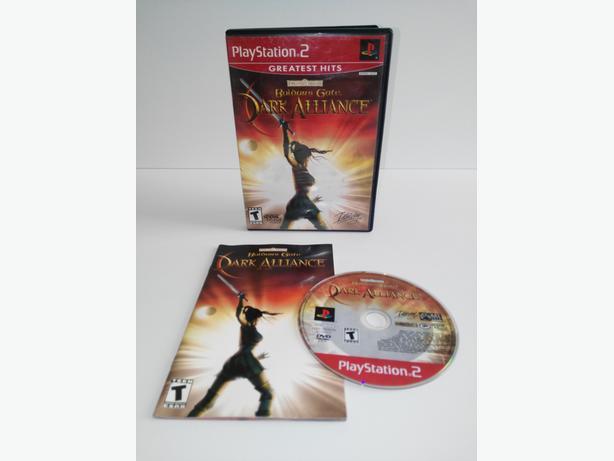 Baldur's Gate Dark Alliance For The Playstation 2