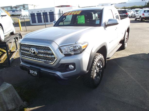 2016 TOYOTA TACOMA 4X4 TRD SR5 FOR SALE