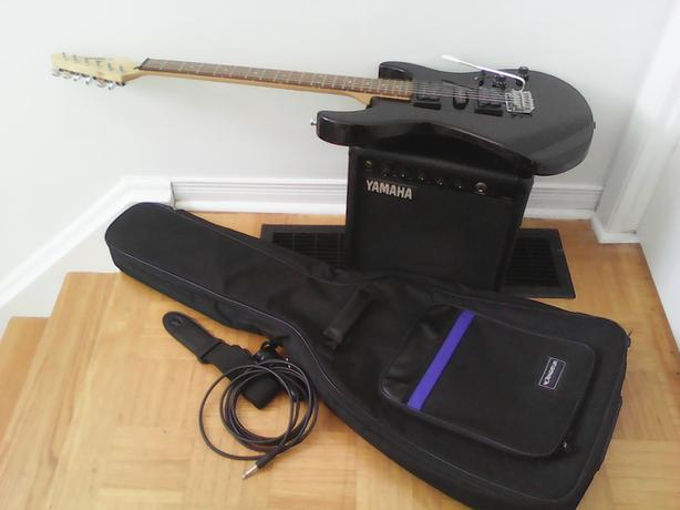 Yamaha guitar & amp package