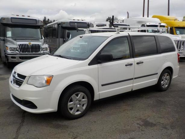 2011 Dodge Grand Caravan Cargo Van with Shelving & Ladder Rack