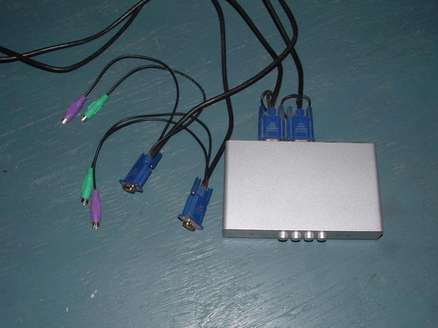 KVM Switch - $10