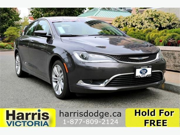 2016 Chrysler 200 Limited, Low Kms, GPS Navigation