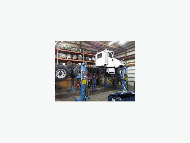 Alberta heavy duty truck parts & repair facility for sale.