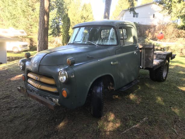 $4,600 · Rare 1956 Dodge Fargo -1 and a half ton pickup truck