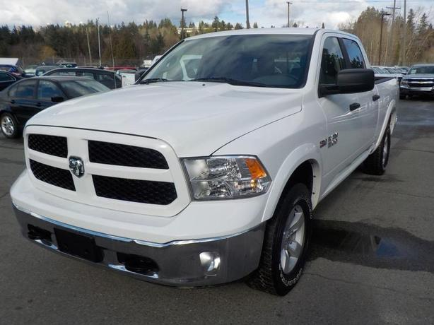 2016 Dodge Ram 1500 Outdoorsman Crew Cab Regular Box 4WD