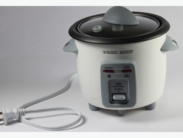 Black&Decker 3-Cup Rice cooker model RC3406C