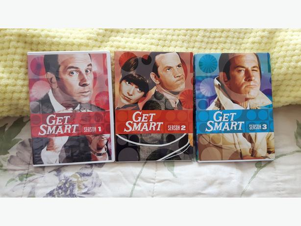 first 3 seasons of get smart