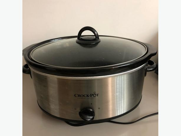 Like New 7QT Crock-Pot Stainless Steel Slow Cooker