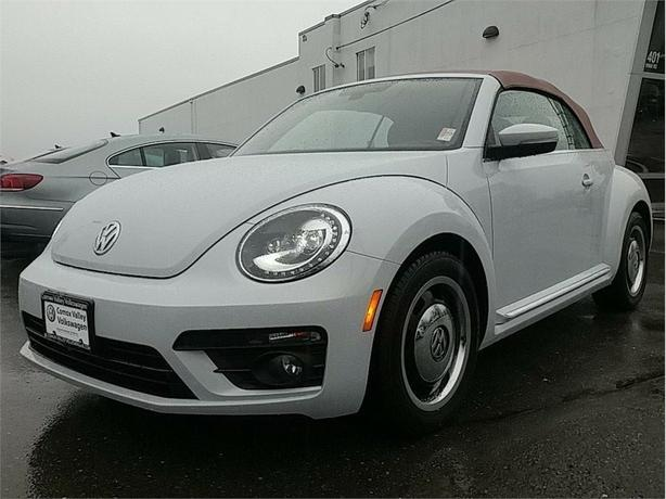 2017 Volkswagen Beetle Convertible 1.8 TSI Classic w/Style Package