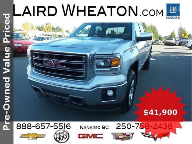 2015 GMC Sierra 1500 SLT 4x4 Leather