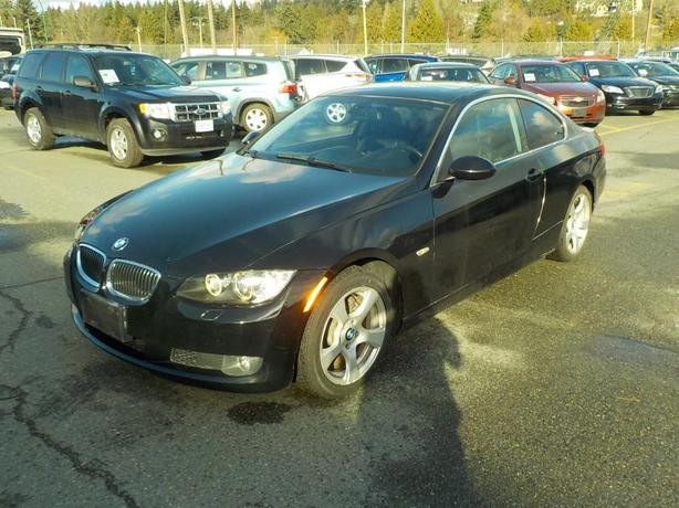 2008 BMW 3-Series 328xi Coupe All Wheel Drive