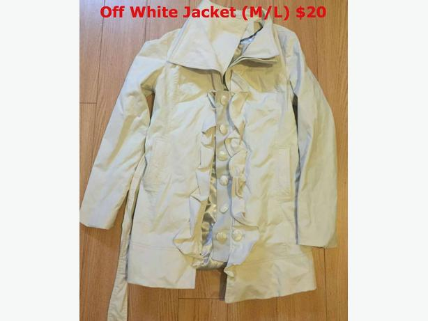 jackets/cover up/jeans / $20 per items