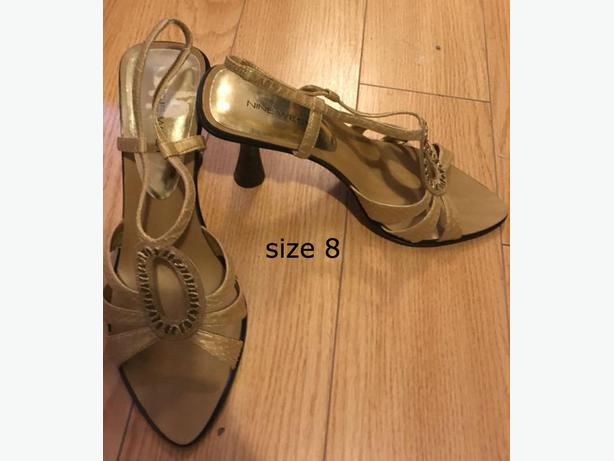 heels size 8 not wide $20 per items