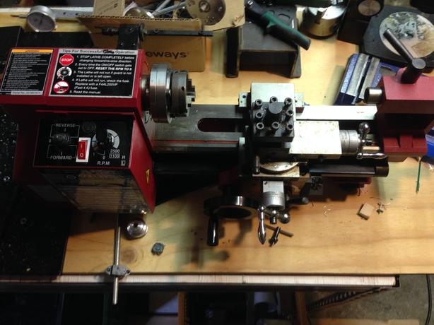 Central Machinery lathe