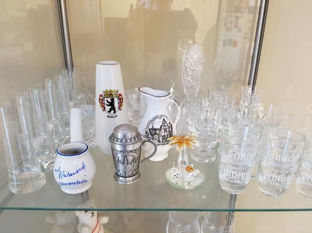 Various bar glasses