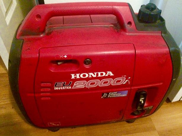 Honda 2000 Watt EU Inverter Power Generator (offers Considered)