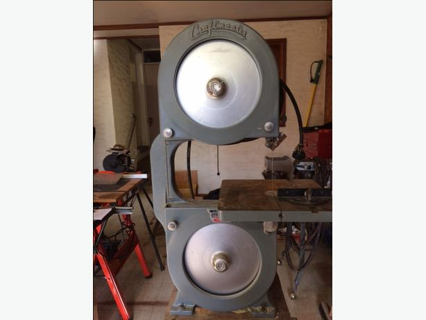 Vintage A. Henry Craftmaster Band Saw 12 inch, 1950's very nice condition