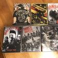 Sons of Anarchy DVD's all 7 seasons