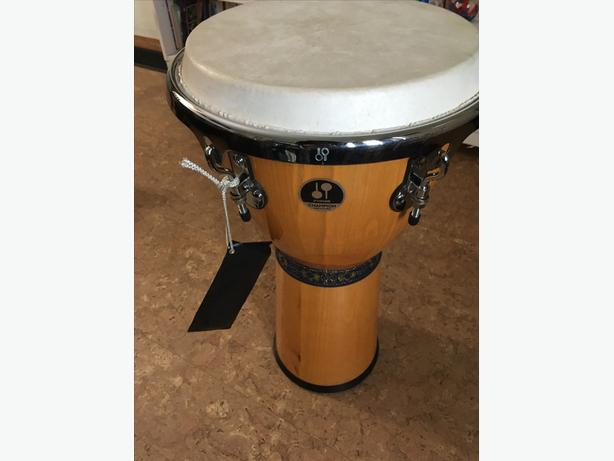 "12"" Djembe Hand Drum Sonnor Champion Precisian Sonor Champion Precision"