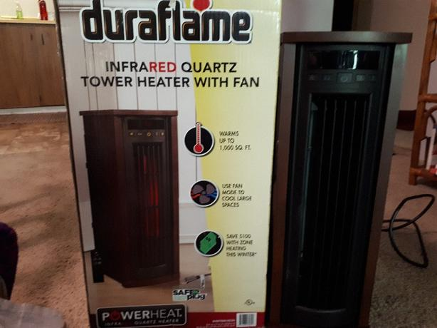 duraflame infrared heater space heater 1000 sq ft