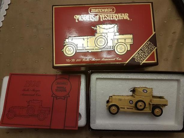 Matchbox Models of Yesteryear YS-38 Armoured Car