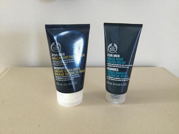 Men's Body Shop products