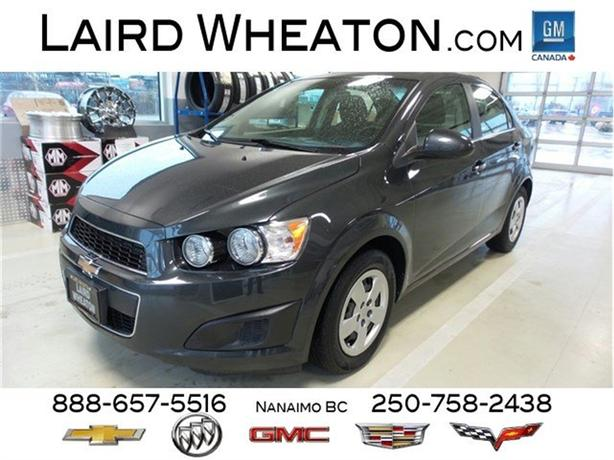 2014 Chevrolet Sonic LT, Automatic, Bluetooth