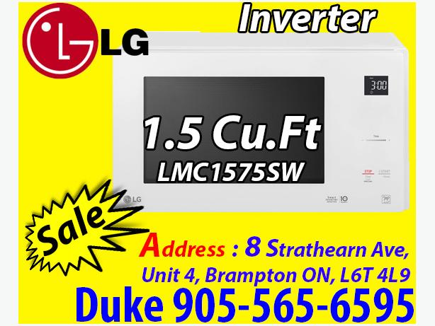 NEW LG 1.5 Cu. Ft. Microwave (LMC1575SW) - White