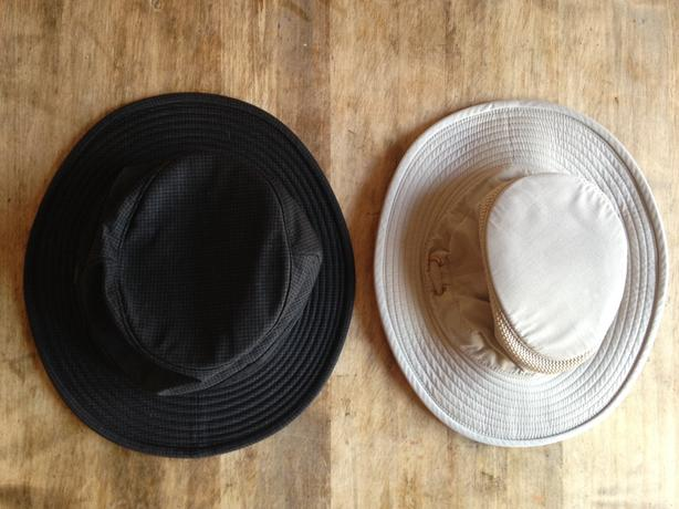 9267baff Two Tilley hats, one summer one winter Victoria City, Victoria