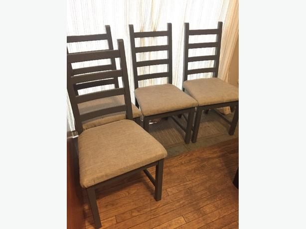 Ikea Kaustby Chairs Repainted And Recovered North Saanich Sidney